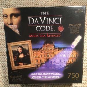 DaVinci Code Puzzle, 750 Pieces, New